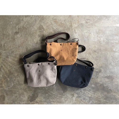 suolo(スオーロ)『KID』Military Canvas Shoulder Bag