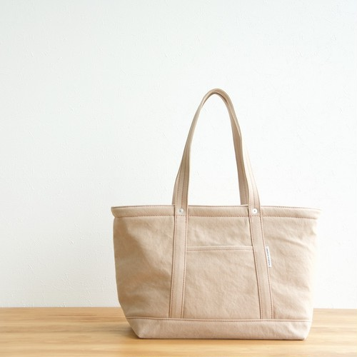 CANVAS TOTE FM / PINK BEIGE