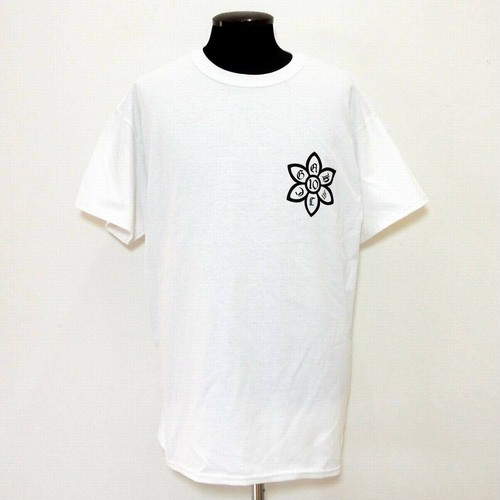 グッド アート ハリウッド X ミック 10周年記念 Tシャツ ホワイト:Good Art HLYWD グッド アート ハリウッド