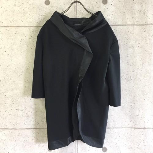 Yohji yamamoto デザインハーフスリーブJKT size:2