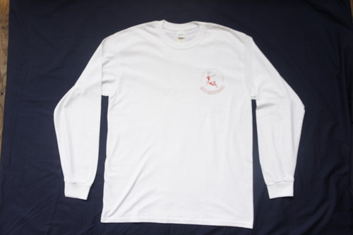 Attractions Deer L/S Tee(Body:White Print:Red)