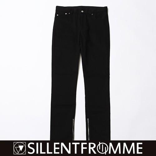 EBONY -Side Zip Skinny-