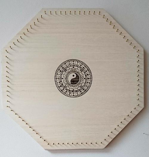 糸掛け曼荼羅キット  八角形  88pin  (八卦盤)