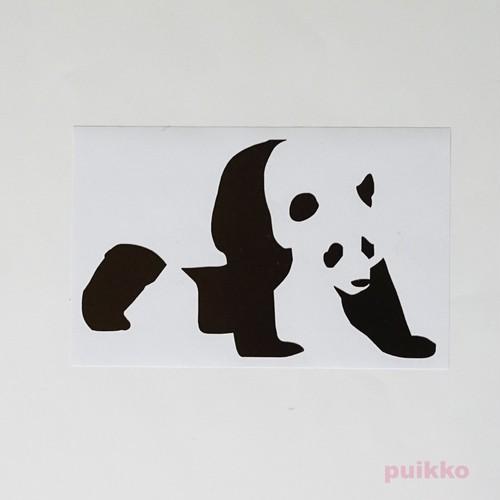 ステッカー パンダ2