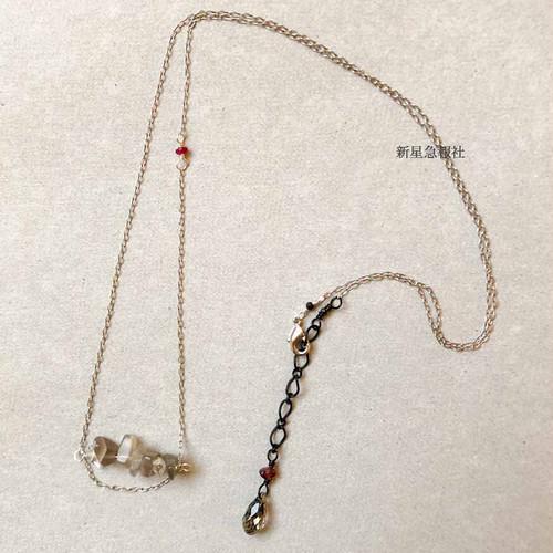 「赤い蝋燭と人魚」ネックレス
