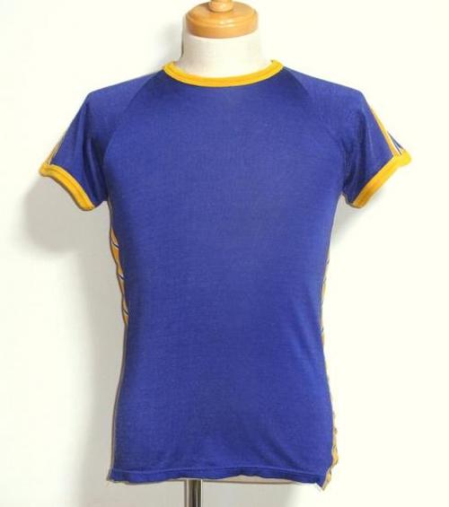 1960's ラグランレーヨンアスレチックTシャツ 実寸(M位)