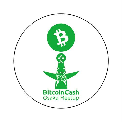 【限定】BitcoinCash缶バッジ OsakaMeetup COFA(A2-OSA005)