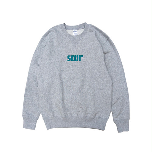 scar /////// SCARX CREW NECK SWEAT (Grey)