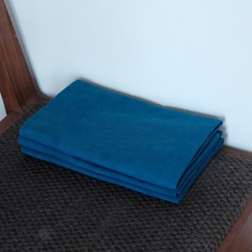 奈良の藍染め手ぬぐい 納戸色