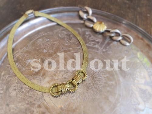 vintage necklace knot <ncMS-KN1>