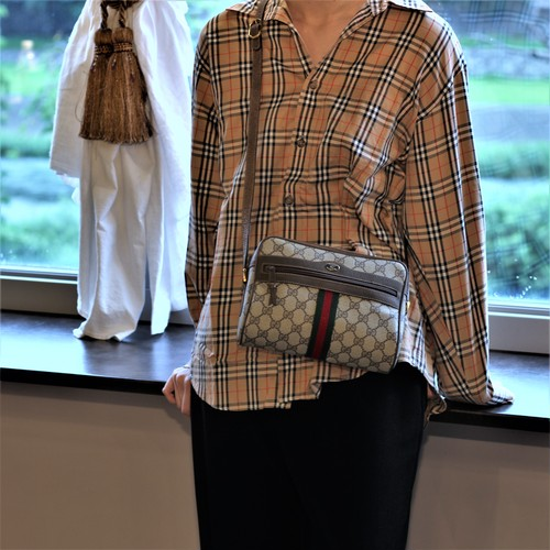 .Burberrys CHECK PATTERNED LONG SLEEVE SHIRT MADE IN JAPAN/バーバリーズチェック柄長袖シャツ 2000000035598