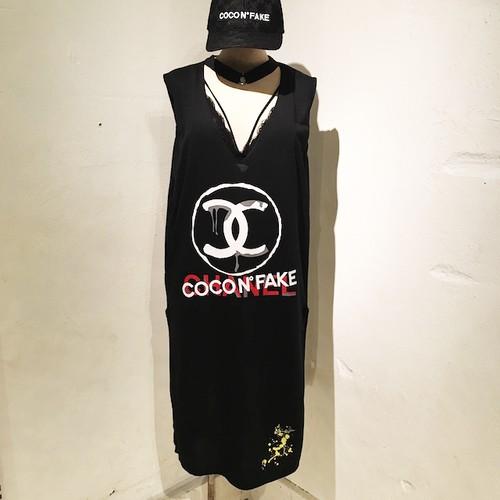 COCO N° FAKE One-Piece / Black