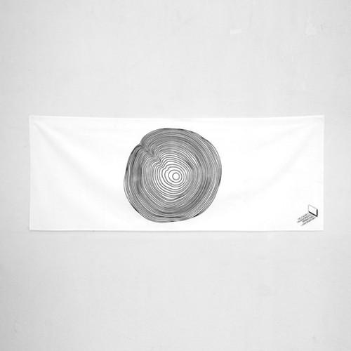 annual ring / 手拭い・ハンカチ /シルクプリント