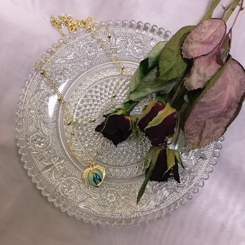 charm necklace ( maria heart )