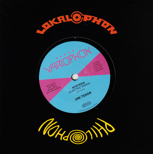 """【残りわずか/7""""】Jimi Tenor - Mysteria (Electric Remix)"""