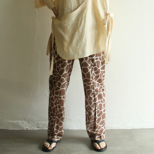WRYHT【womens】string waist trouser