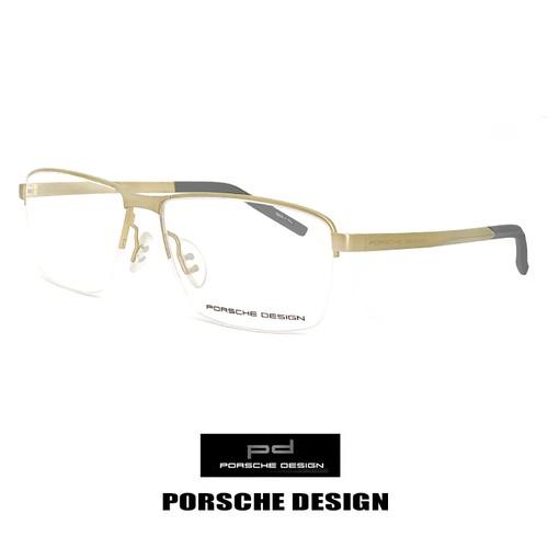 ポルシェデザイン メガネ p8318-b PORSCHE DESIGN 眼鏡 porschedesign ナイロール ハーフリム スクエア メタル
