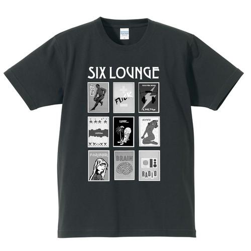 SIX LOUNGE NEWデザインTシャツ 黒