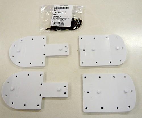 ROSSIGNOL LANGE   BOOTS LIFTER  ブーツリフターホワイト 3mm  1セット RVELZ10