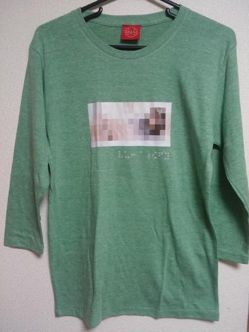 モザイク7分Tシャツ2