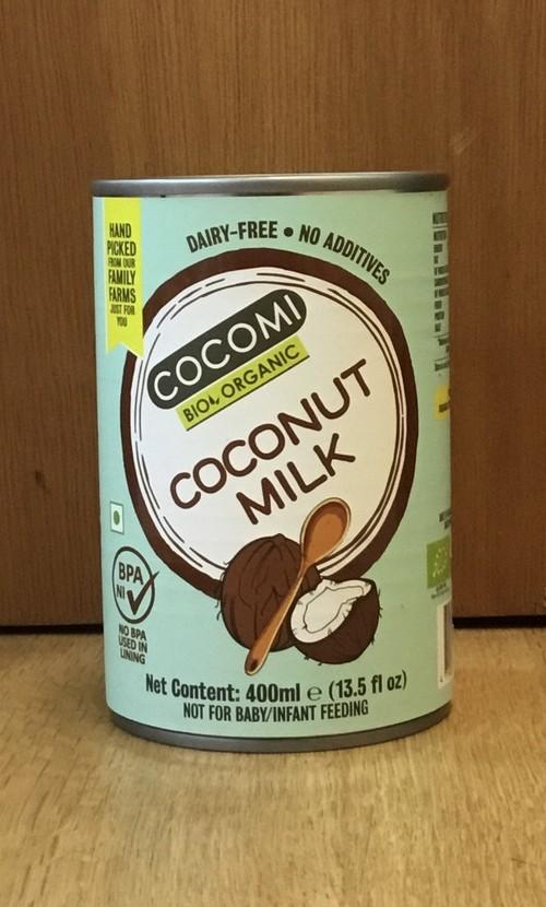 有機ココナッツミルク cocomi  〜400ml〜