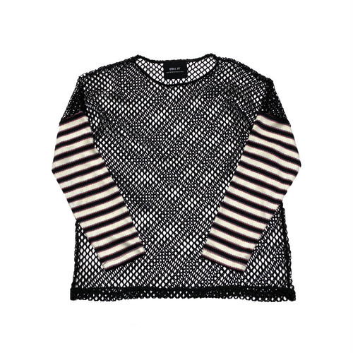 ILL IT - MULTI STRIPE MESH KNIT -