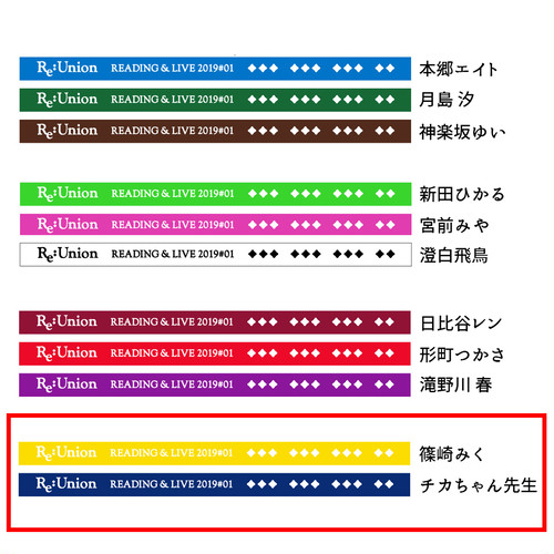 「Re:Union 1.0」超未来編・ラババンセット(篠崎みく / チカちゃん先生)