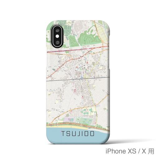 【辻堂】地図柄iPhoneケース(ナチュラル)