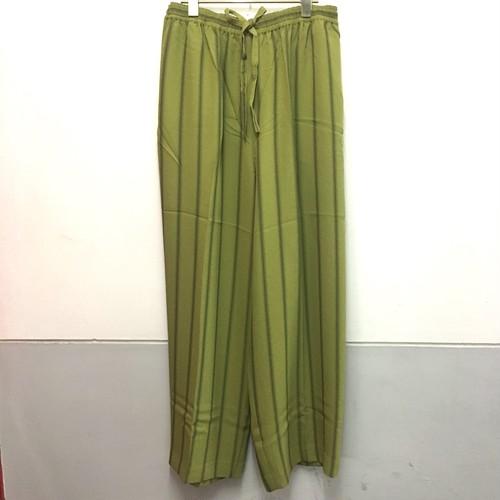 greentea stripe wide pants