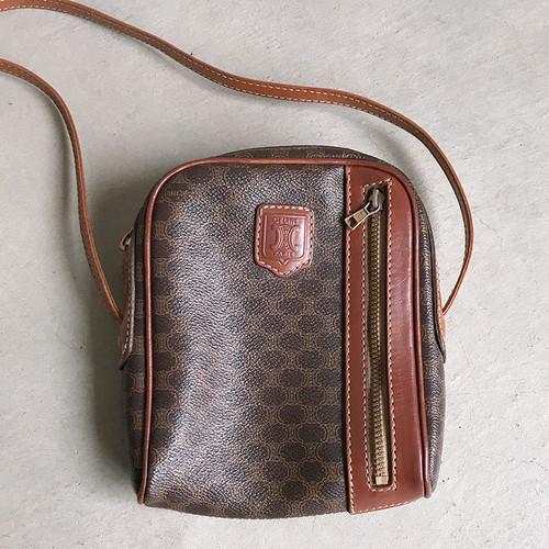 ヴィンテージ セリーヌ-CELINE- マカダム柄 ショルダー バッグ / Vintage - CELINE - Makadam shoulder bag