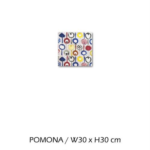 北欧生地 ファブリックパネル 横30 cm x 縦30 cm almedahls POMONA 受注販売商品 (94613)