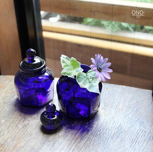 和知篤司 瑠璃色ポット