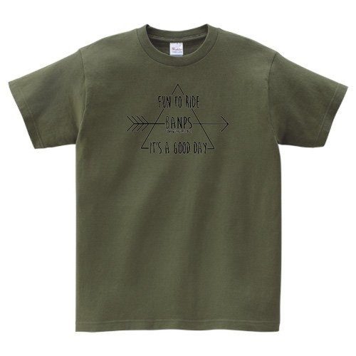 SHORT SLEEVE Tshirt TR(6.Olive/Black) bp-41