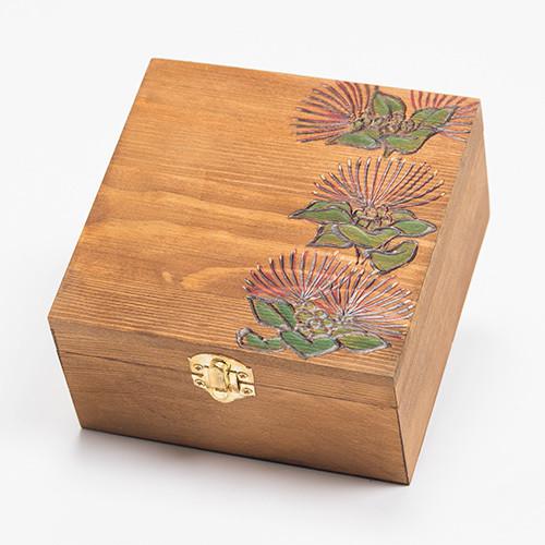 木のBOX 【Plumeria / Maile / Lehua】