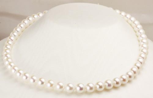 「大珠」本真珠ネックレス8.5mm