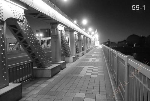 シリーズ 墨東歳時記59 〜白鬚橋ライトアップ〜 <フォトカード・10枚セット>