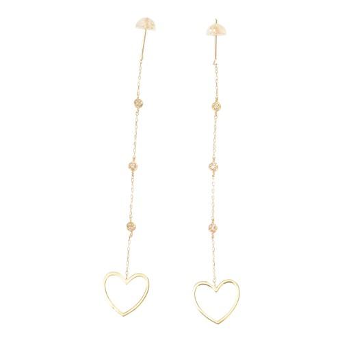 dots diamond pierce(heart)(RM-0011-3)