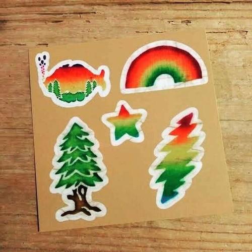 5デザインセット sticker