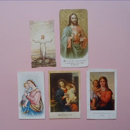 チェコ キリスト・宗教 古いカードセット A