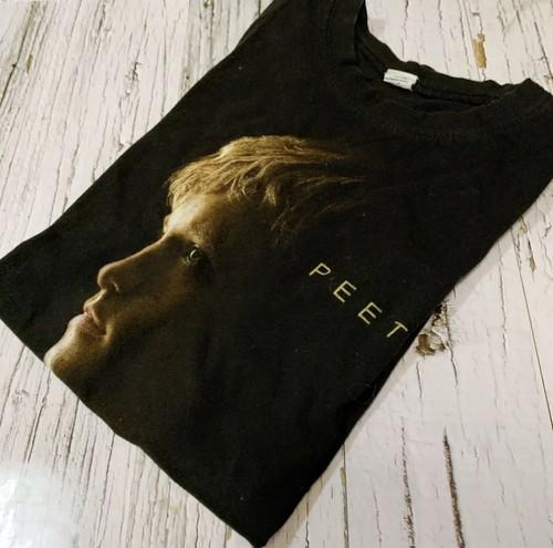 PEETA Tシャツ メンズ ピーターメラーク 黒 ブラック  映画 フォトT