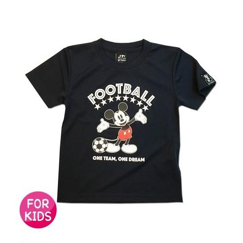 Mickey Mouse コラボ プラシャツ gramo「ONE TEAM」(ネイビー/P-048) ※120・140cmサイズ