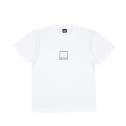 MFC STORE SQUARE LOGO S/S TEE / WHITE