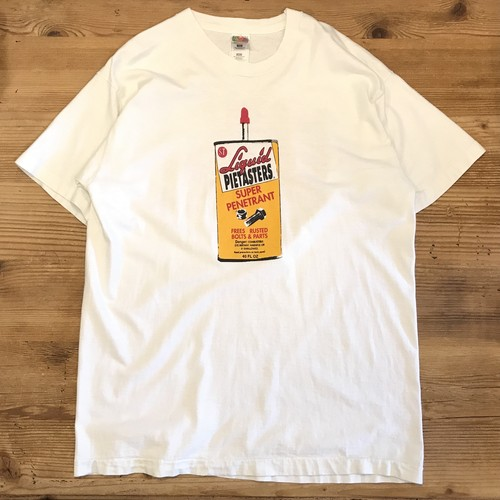【USED】THE PIETASTERS パイテイスターズ 両面 プリント バンド Tシャツ