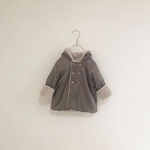 kobito coat / milkcocoa(beige boa)・男の子120size