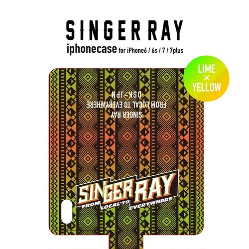 RAY IPHONE CASE 2017 (LIME&YELLOW) iPhone6/6S,7,7plus対象