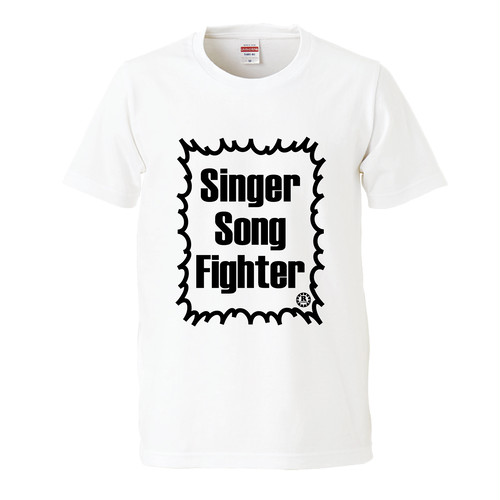 入荷しました【新色】Singer Song Fighter ロゴTシャツ(ホワイト)