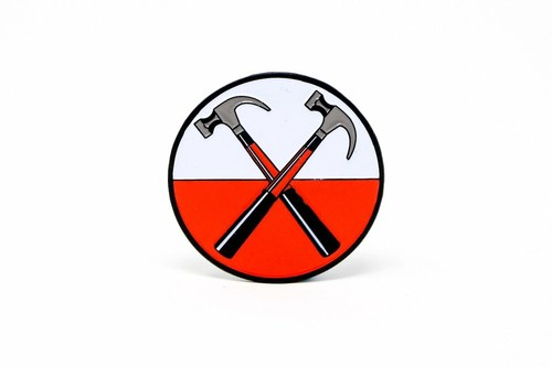 "Rockinpins""Pink Floyd 'The Wall' Hammers"""