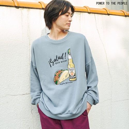 TACOSオリジナル刺繍トレーナー NO1301017