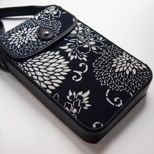 Aizome(indigo dyed) Shoulder Bag by KINA KATOU