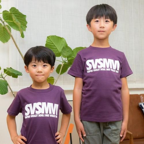 SVSMVIロゴ・キッズTシャツ